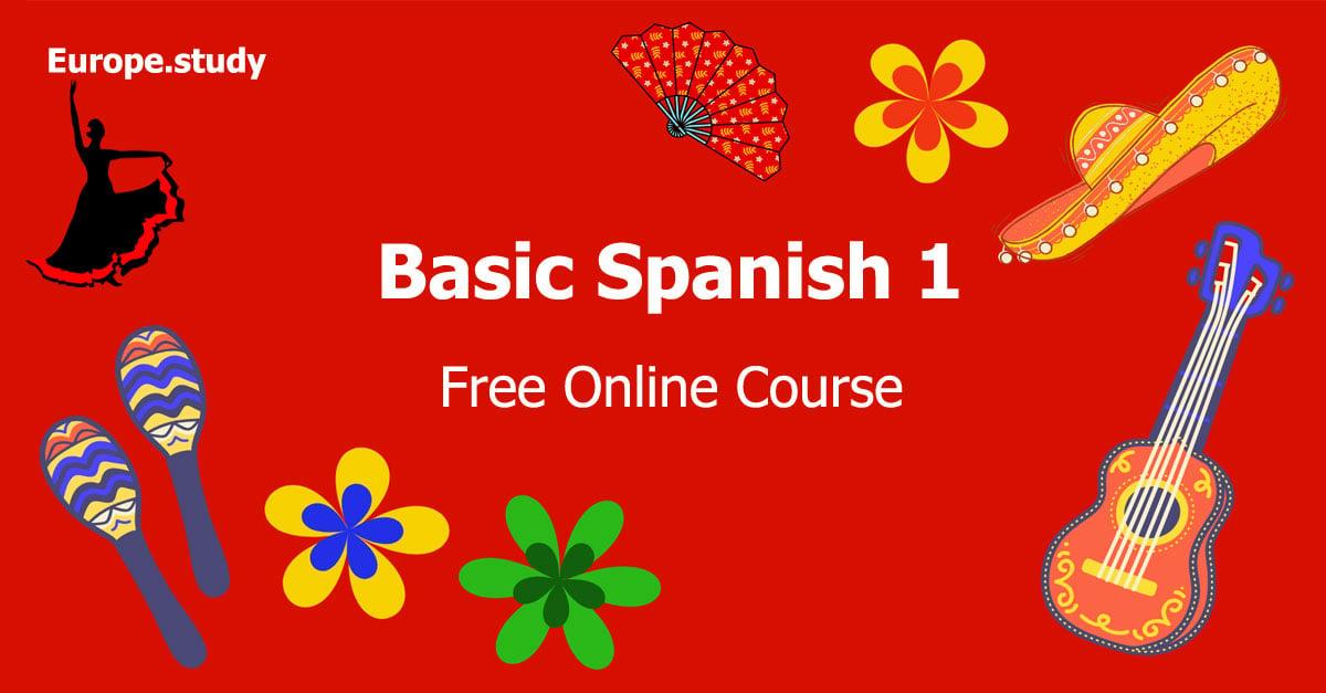 Basic Spanish 1: Getting Started - Europe.study