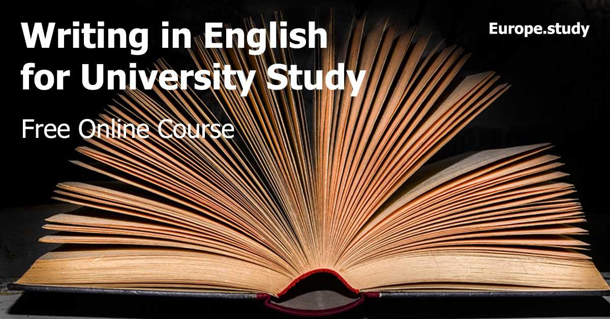 study academic writing online